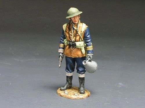 KING AND COUNTRY, FOB005, #1/30, BRITISH NAVAL OFFICER, (BOXED)