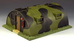 KING AND COUNTRY, RAF014, 1/30, QUENSET HUT, (BOXED) additional shipping applies