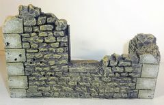 BRITAINS, #17767, 1/30, DESTROYED HOUSE CORNER, (BOXED)
