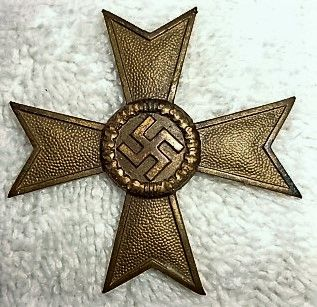 WWII German Non Combatant 2nd Class Service Cross