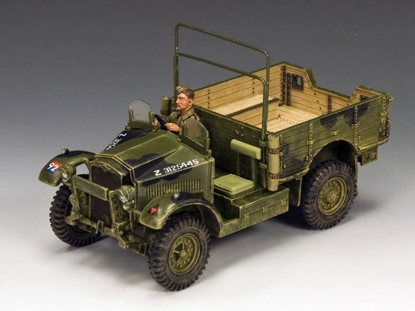 KING AND COUNTRY, FOB091, 1/30, BRITISH MORRIS TRUCK, (BOXED)