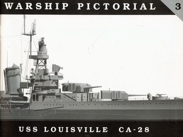 WARSHIP PICTORIAL, #3, USS LOUISVILLE