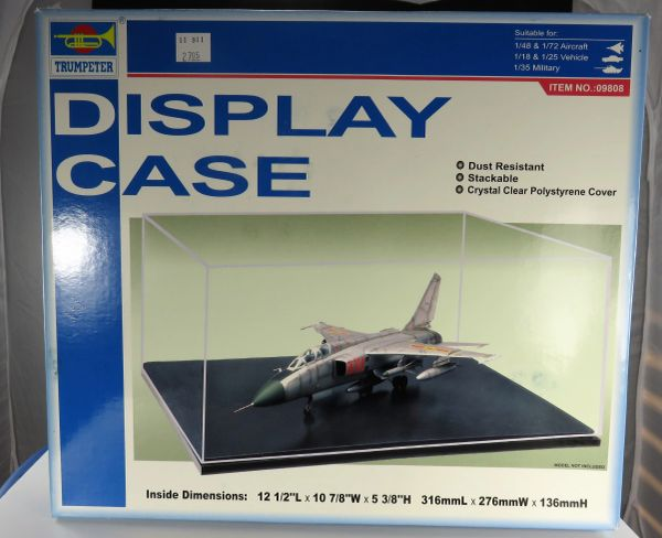 Trumpeter Display Case for 1/48th Scale aircraft