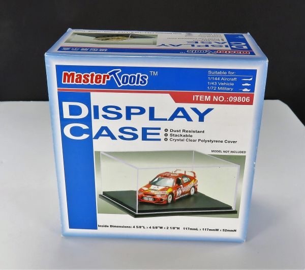 Mastertools Display Case Small scale models