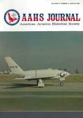 AAHS JOURNAL, AMERICAN AVIATION HISTORICAL SOCIETY, VOL. 27, NO. 4