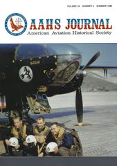 AAHS JOURNAL, AMERICAN AVIATION HISTORICAL SOCIETY, VOL. 34, NO. 2