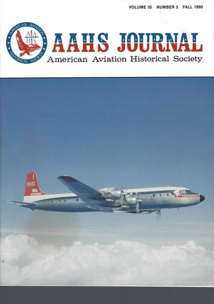 AAHS JOURNAL, AMERICAN AVIATION HISTORICAL SOCIETY, VOL. 35, NO. 3