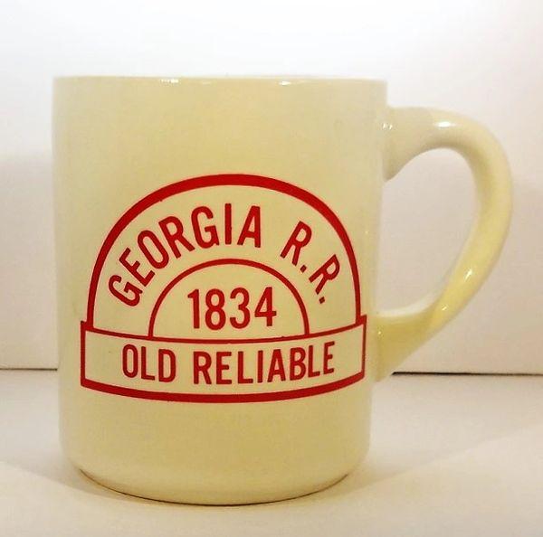 CUP, TRAIN, GEORGIA RAILROAD