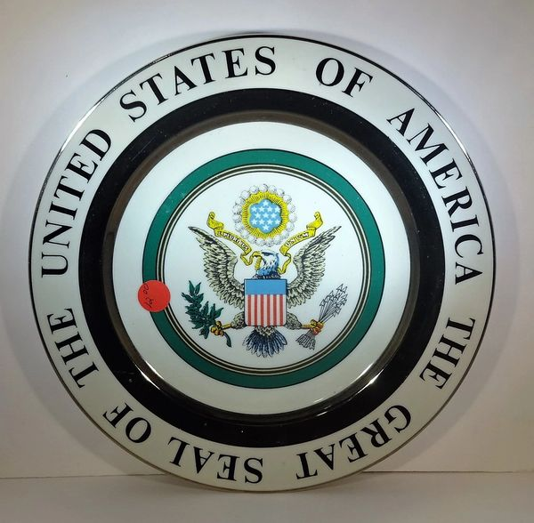 PLATE, U S GREAT SEAL