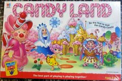 GAMES, MILTON BRADLEY, No. 04700, CANDY LAND, 1967, (Like new Condition)
