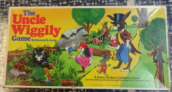 GAMES, PARKER BROTHERS, No. 160, UNCLE WIGGLEY, 1999, (Some Box Wear)