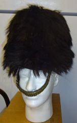 BCW Original English Guards Bear Skin Helmet, circa 1880-1908
