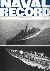 NAVAL RECORD, VOL. II, NO. 6