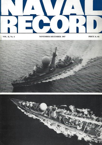 NAVAL RECORD, VOL. II, NO. 6