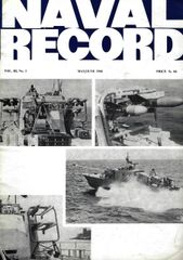 NAVAL RECORD, VOL III, NO. 3
