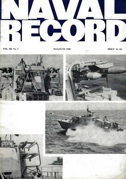 NAVAL RECORD, VOL III, NO. 3