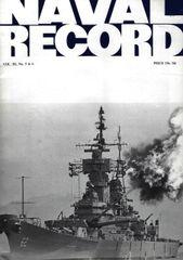 NAVAL RECORD, VOL. III, NO. 5
