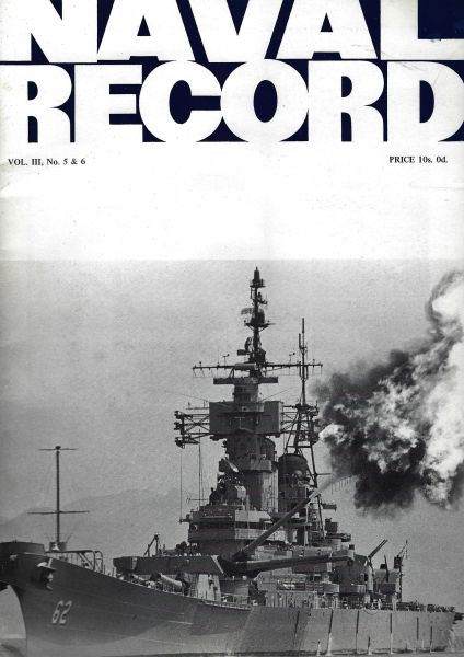 NAVAL RECORD, VOL. III, NO. 5