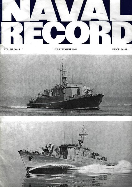 NAVAL RECORD, VOL. III, NO. 4