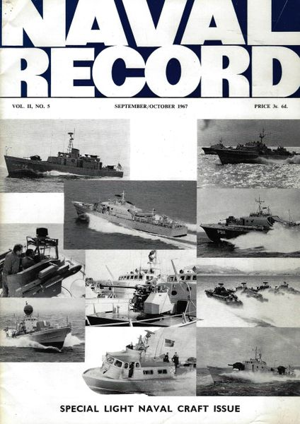 NAVAL RECORD, VOL. II, NO. 5