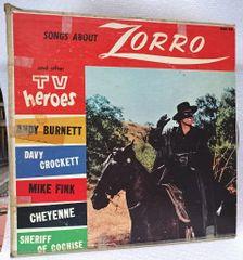 RECORD, WALT DISNEY, ZORRO, ETC.