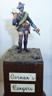 CARL HOEGERMEYER, CHAW5, 1/32, Gorman Rangers, 1756 (UNBOXED)