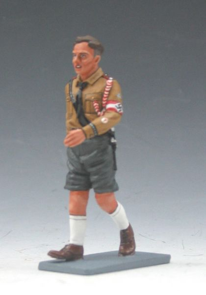 KING AND COUNTRY, LAH051, 1/30, HITLER JUGEND MARCHING, (BOXED)