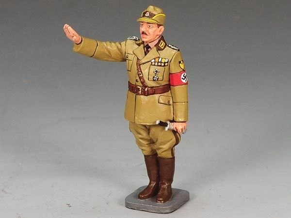 KING AND COUNTRY, LAH104, 1/30, kONSTANTIN HIERL, REICH LABOR LEADER, (BOXED)