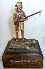 Iroquois Indian, circa 1750 - 1763