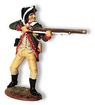 KING AND COUNTRY, AR021, 1/30, CONTINENTAL MARINE STANDING FIRING, (BOXED) (2 AVAILABLE)