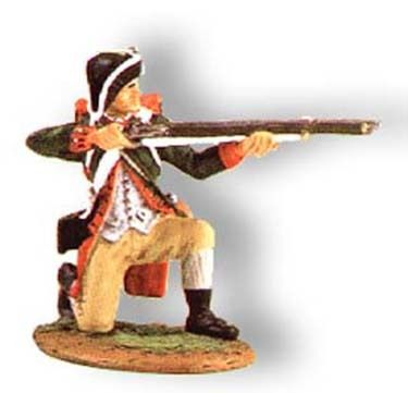 KING AND COUNTRY, AR023, 1/30, CONTINENTAL MARINE KNEELING FIRING, (BOXED)