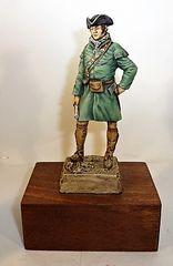 Military Miniature, Rogers Ranger, 1756 (3)