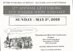 GETTYSBURG TOY SOLDIER SHOW AND SALE