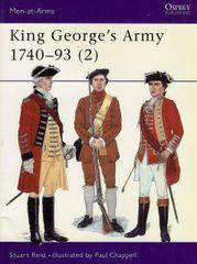 OSPREY, 1700'S, #, KING GEORGE'S ARMY 1740-1793, (2)
