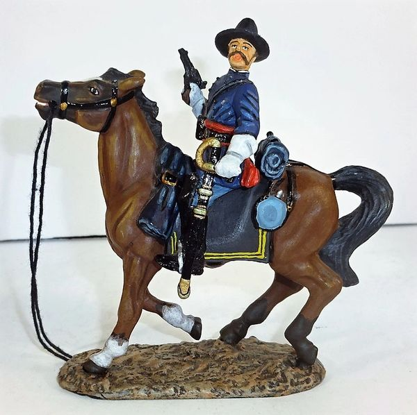 KING AND COUNTRY, ACW14, 1/30, GENERAL AMBROSE BURNSIDE, (BOXED)