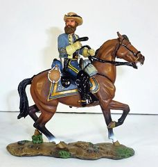 KING AND COUNTRY, CW010, 1/30, GENERAL JEB STUART, (BOXED)