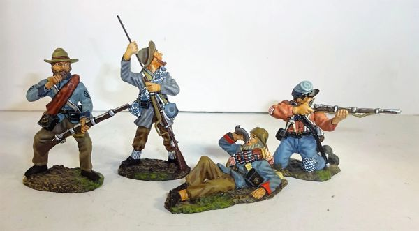 "KING AND COUNTRY, ACW09, 1/30, CONFEDERATE ""AYE READY"", (BOXED)"