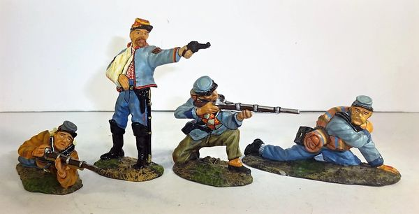 "KING AND COUNTRY, ACW11, 1/30, CONFEDERATE ""STEADY BOYS, (BOXED)"