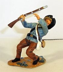 BRITAINS, 2001-115, 1/32, CONFEDERATE SHOT, (UNBOXED)