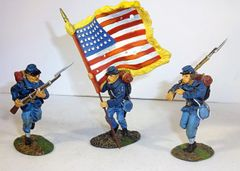 KING AND COUNTRY, ACW01, 1/30, 51ST NEW YORK REG'T, (BOXED)