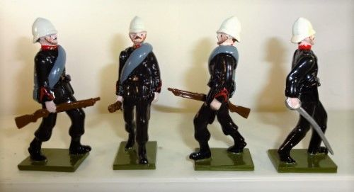 Steadfast, SF28, 1/32, 3rd Foot , The Buffs, Advancing, 1879, (Boxed)