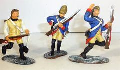 BRITAINS, 17286, 1/32, AMERICAN REVOLUTION HESSIANS ATTACKING, (BOXED)