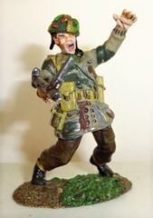 Conte, WW2-015, 1/30, British Paratrooper Shot, (Unboxed)
