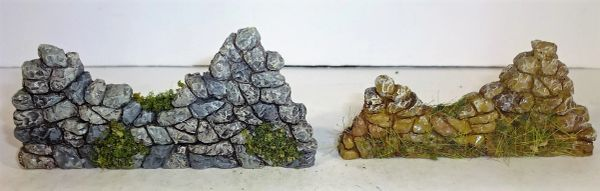 QUARTERMASTER CORP, STOWAL , 1/32 & 1/30, WHEN ORDERING STONE WALLS SPECIFY BROWN OR GRAY STONES
