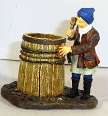 WILLIAMSBURG COLLECTIBLES, WB-03, 1/30, COOPER AT WORK, (BOXED)