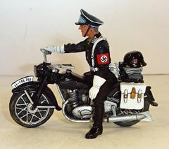 KING AND COUNTRY, LAH055, 1/30, SS MOTORCYCLE, (BOXED)