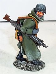 KING AND COUNTRY, BBG059, 1/30, M G 42 GUNNER, (BOXED)