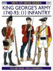 OSPREY, 1700'S,#285, KING GEORGE'S ARMY 1740-1793 (1)