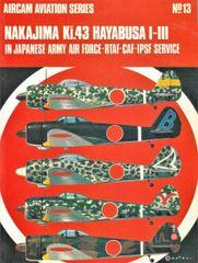 AIRCAM, 1940'S, #13, JAPANESE KI.43