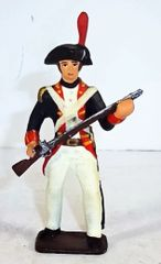 DEL PRADO, 3, 1/32, CONTINENTAL INFANTRY (UNBOXED)